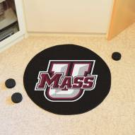 Massachusetts Minutemen Hockey Puck Mat