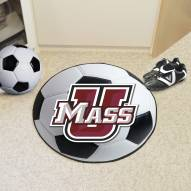 Massachusetts Minutemen Soccer Ball Mat