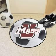 Massachusetts Minutemen Soccer Ball Mat