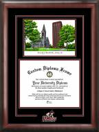 Massachusetts Minutemen Spirit Graduate Diploma Frame