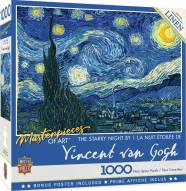 Masterpieces Starry Night 1000 Piece Puzzle
