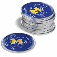 McNeese State Cowboys 12-Pack Golf Ball Markers