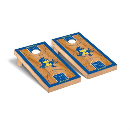 McNeese State Cowboys Basketball Court Cornhole Game Set