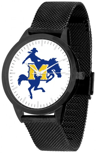 McNeese State Cowboys Black Mesh Statement Watch