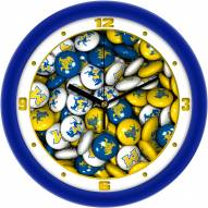 McNeese State Cowboys Candy Wall Clock