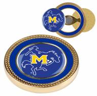 McNeese State Cowboys Challenge Coin with 2 Ball Markers