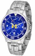McNeese State Cowboys Competitor Steel AnoChrome Color Bezel Men's Watch