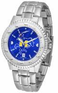 McNeese State Cowboys Competitor Steel AnoChrome Men's Watch