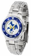 McNeese State Cowboys Competitor Steel Women's Watch