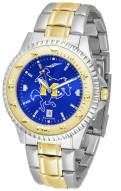 McNeese State Cowboys Competitor Two-Tone AnoChrome Men's Watch