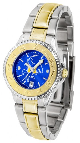 McNeese State Cowboys Competitor Two-Tone AnoChrome Women's Watch