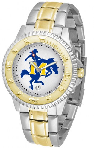McNeese State Cowboys Competitor Two-Tone Men's Watch