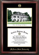 McNeese State Cowboys Gold Embossed Diploma Frame with Lithograph