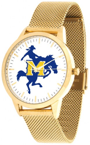 McNeese State Cowboys Gold Mesh Statement Watch