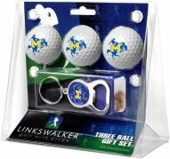 McNeese State Cowboys Golf Ball Gift Pack with Key Chain