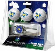 McNeese State Cowboys Golf Ball Gift Pack with Kool Tool