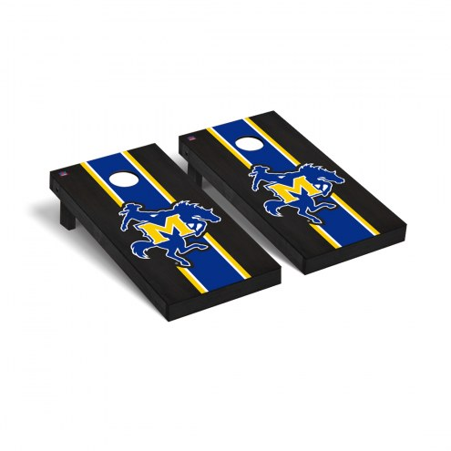 McNeese State Cowboys Onyx Stained Cornhole Game Set