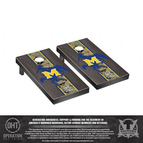 McNeese State Cowboys Operation Hat Trick Stained Cornhole Game Set