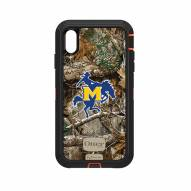 McNeese State Cowboys OtterBox iPhone XS Max Defender Realtree Camo Case