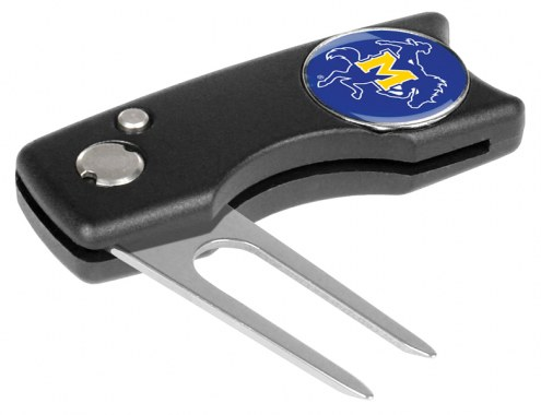 McNeese State Cowboys Spring Action Golf Divot Tool