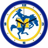 McNeese State Cowboys Traditional Wall Clock