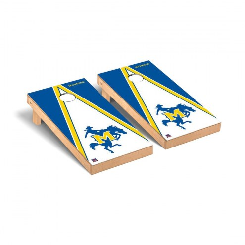 McNeese State Cowboys Triangle Cornhole Game Set