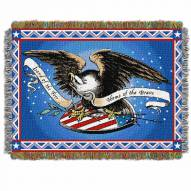 Memorial Day Throw Blanket