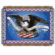 Memorial Day Throw Blanket