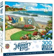 Memory Lane Coastal Getaway 300 Piece EZ Grip Puzzle
