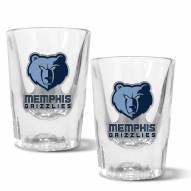 Memphis Grizzlies 2 oz. Prism Shot Glass Set
