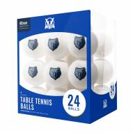 Memphis Grizzlies 24 Count Ping Pong Balls