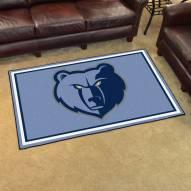 Memphis Grizzlies 4' x 6' Area Rug