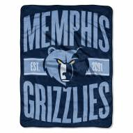 Memphis Grizzlies Clear Out Throw Blanket