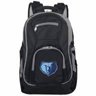 NBA Memphis Grizzlies Colored Trim Premium Laptop Backpack
