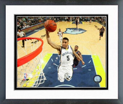Memphis Grizzlies Courtney Lee Action Framed Photo