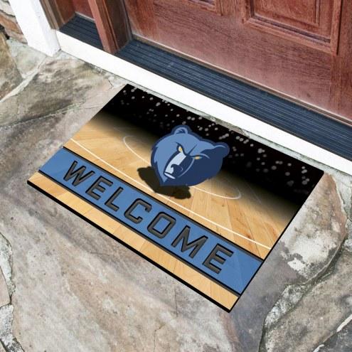 Memphis Grizzlies Crumb Rubber Door Mat
