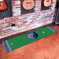 Memphis Grizzlies Golf Putting Green Mat