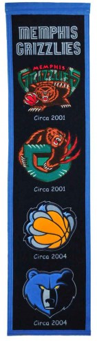 Memphis Grizzlies Heritage Banner