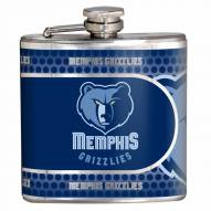 Memphis Grizzlies Hi-Def Stainless Steel Flask