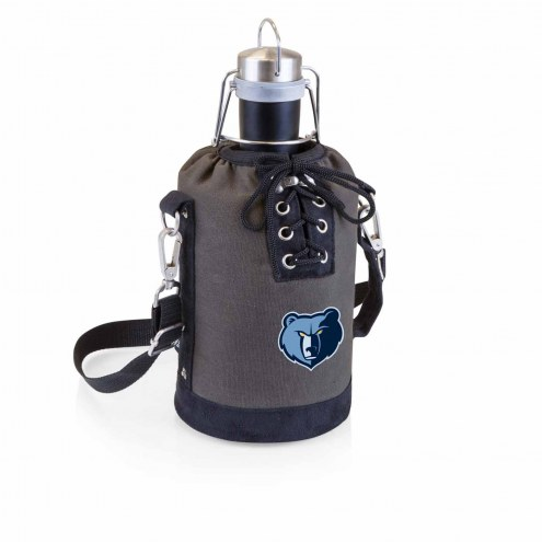 Memphis Grizzlies Insulated Growler Tote with 64 oz. Stainless Steel Growler