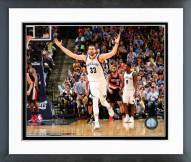 Memphis Grizzlies Marc Gasol Playoff Action Framed Photo