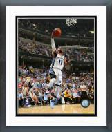 Memphis Grizzlies Mike Conley Playoff Action Framed Photo