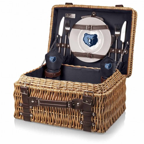 Memphis Grizzlies Navy Champion Picnic Basket