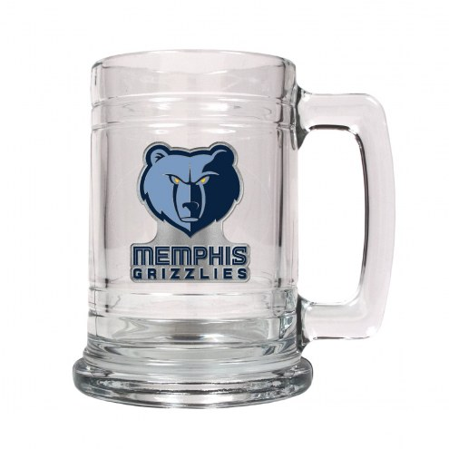 Memphis Grizzlies NBA 2-Piece Glass Tankard Beer Mug Set