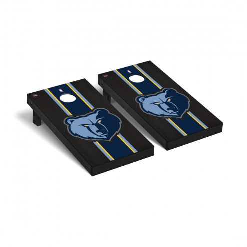 Memphis Grizzlies Onyx Stained Cornhole Game Set