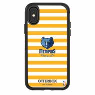 Memphis Grizzlies OtterBox iPhone X/Xs Symmetry Stripes Case
