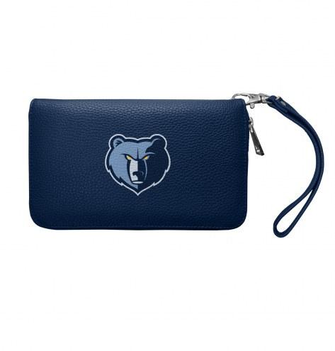Memphis Grizzlies Pebble Organizer Wallet