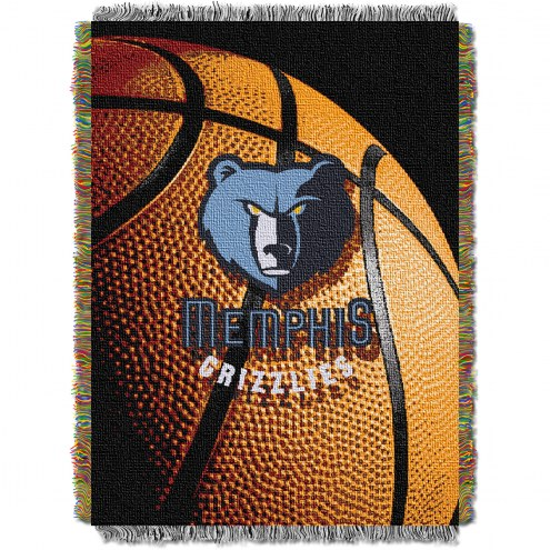 Memphis Grizzlies Photo Real Throw Blanket