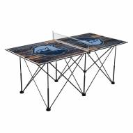 Memphis Grizzlies Pop Up 6' Ping Pong Table
