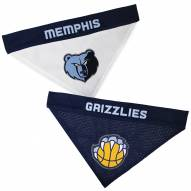 Memphis Grizzlies Reversible Dog Bandana
